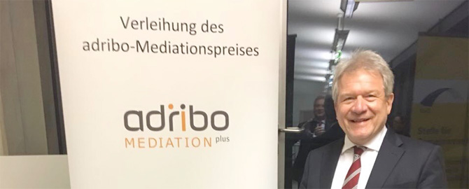 Gelungene Veranstaltungen anlässlich der Übergabe der Mediationspreise 2017!