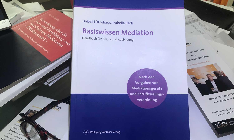 """""""Basiswissen Mediation"""" und """"Standard QVM 2019"""""""